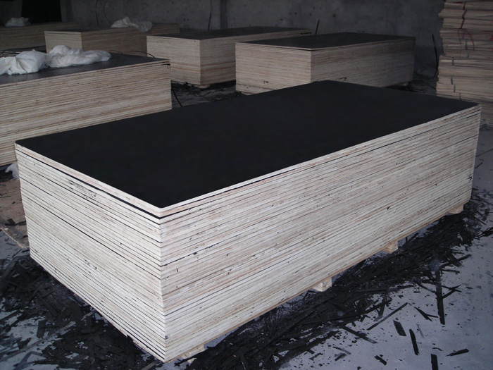 Black Film Faced Plywood To Be Packed