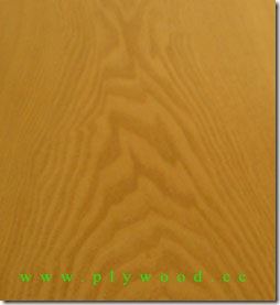 Red Oak Fancy Plywood (Decorative Plywood)