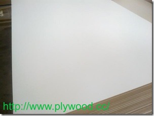 Melamine Faced MDF (Warm White)