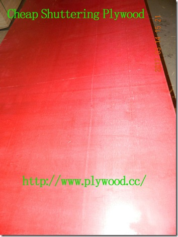 Cheap Shuttering Plywood