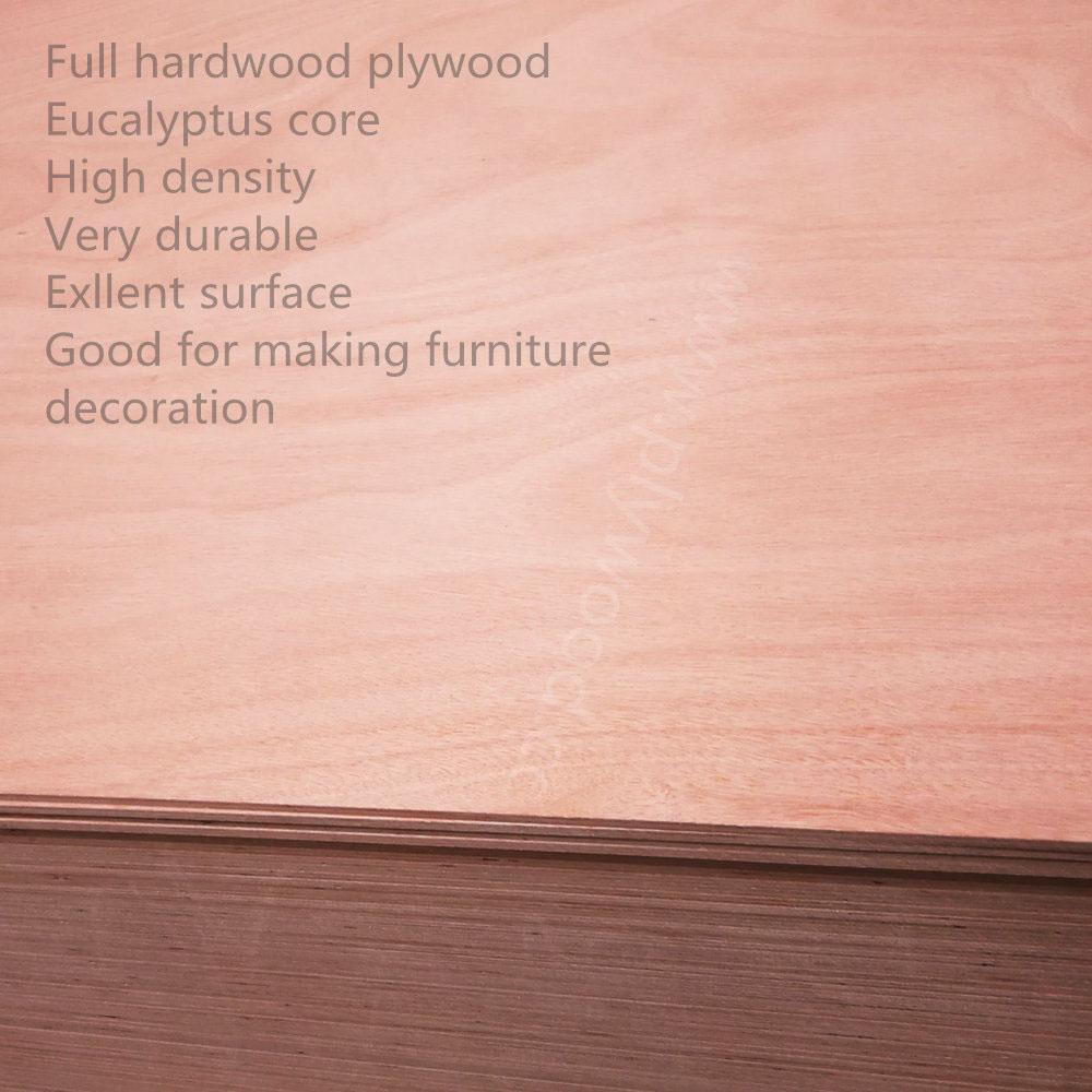 Full Hardwood Plywood (also called throughout hardwood plywood)