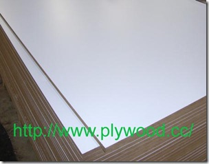 Cold White Melamine MDF (Melamine Faced Board)