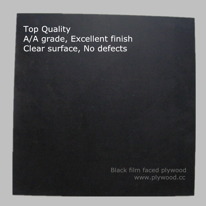 Black Film Faced Plywood-Top Quality